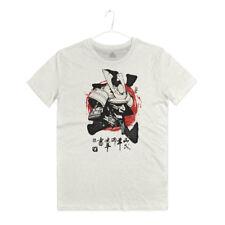 Maglietta Maschera Samurai Arti Marziali Mask T-shirt Man Bushido Japan Hagakure