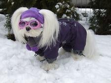 Manteau d'hiver mit écharpe VIOLET PATTES ,manteau pour chiens Femelle
