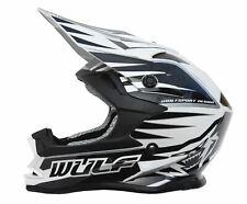 Wulfsport JUNIOR Kids ADVANCE Motocross MX Helmet Quad Off Road Enduro Black
