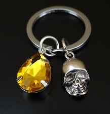 Skull Keychain, Skull Charm, Skull Pendant, Skull Key chain, Suger Skull, Gothic