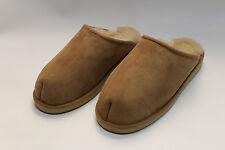 Zapatillas, Zapatillas de casa genuina Piel cordero con fijo Suela 37-46