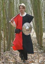 Battle Merchant Wappenrock Waffenrock Mittelalter Gewand Gestreift 9 Farben