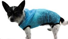Regenjacke Hund Jacke XS S M L Mütze Regen Regenmantel wasserabweisend blau