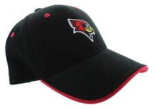timeless design 65fb9 1d4fd Illinois State Redbirds Adjustable Buckle Back Hat Embroidered Cap - Black