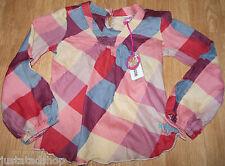 Nolita Pocket girl  top blouse shirt  3-4 y  BNWT designer red check