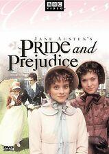 BRAND NEW DVD Jane Austen's Pride and Prejudice BBC Video Elizabeth Garvie