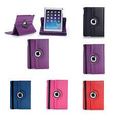 Apple iPad 2017 9.7 Funda VARIOS COLORES Piel Artificial 360 GRADOS Caso