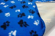 PROFESIONAL antideslizante Veterinario perro Manta de Mascota L Patas - azul