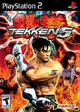 Tekken 5 (Greatest Hits, Sony PlayStation 2, 2005) - COMPLETE - Disc MINT