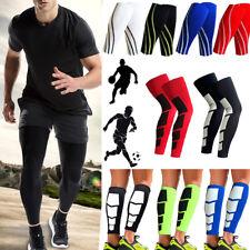 Calf Supports Knee Compression Running Sleeve Mens Womens Shin Splint Legs Brace
