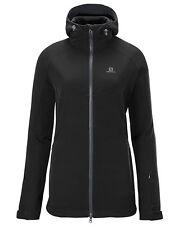 VESTE VESTE DE SKI SALOMON Snowflirt 3:1 Jacket W, Femmes, noir gris, doublé