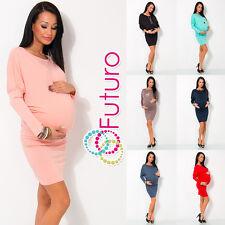 Women's Maternity Dress Kimono Style Boat Neck Pregnancy One Size 8-12 4023