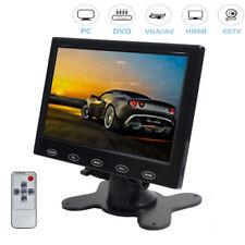 "9""/7"" Inch LCD HD 800*480 RCA AV VGA HDMI Monitor Car Rearview Monitor w/Speaker"