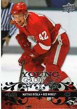 MATTIAS RITOLA Rookie 08/09 Upper Deck Young Guns #214 Hockey Card UD RC