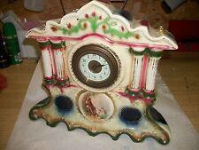 Antique Royal Vienna Porcelain Mantle Clock - Project