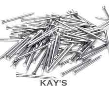 BRIGHT STEEL PANEL PINS, TACKS, HARDBOARD NAILS 15mm,20mm,25mm,30mm,40mm, 50mm