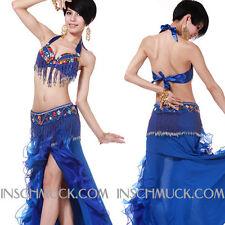 C917 Professionale Costume Danza Ventre Quota 2 REGGISENO Cintura danza ventre