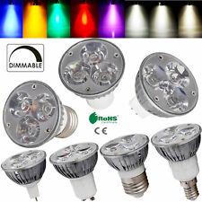 Dimmable 6W LED Spotlight Bulb E27 GU10 GU5.3 MR16 E12 B22 E14 CREE/Epistar Lamp