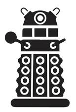 Doctor Who DALEK Decal Sticker Car / Wall / Window / Laptop -15 x 10cm