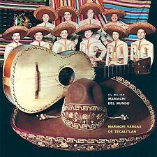 Vargas, Mariachi-El Mejor Mariachi Del Mundo CD NEW