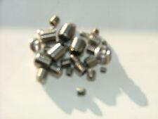 ASSORTED STAINLESS STEEL GRUB SCREWS PACK OV M3 M4 M5 M6 M8 A4 316 MARINE GRADE