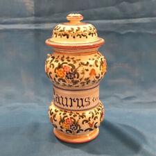 Ceramica dipinta a mano RICCERI: Vaso FARMACIA - vari decori