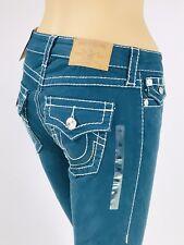 $249 Big T Curvy Super Skinny True Religion Women Jeans 25 26 27 28 29 30