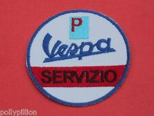 VESPA SCOOTER PIAGGIO SERVIZIO ITALY SEW/IRON ON PATCH