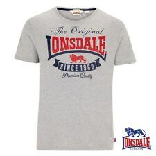 Lonsdale Camiseta T-Shirt Corrie Hombres Top Boxeo Boxing S M L Xl Xxl 3xl