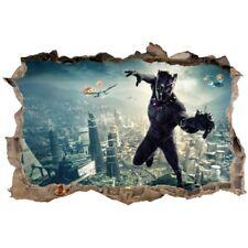 Stickers 3D La Panthere noir réf 52499