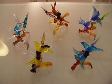 Murano Hochzeit Deko Vögel auf Ast Muranoglas Tier Glas original mit Zertifikat