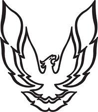 Pontiac Firebird Trans Am Logo Bird Vinyl Decal Your Color Choice Sticker