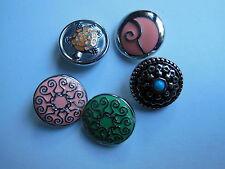 Clicks Buttons Druckknopf Click Button für Armband Kette kompatibel mit Chunks