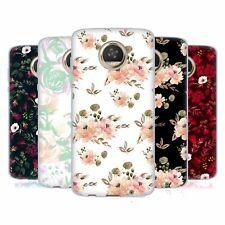 OFFICIAL ANIS ILLUSTRATION FLOWER PATTERN 4 SOFT GEL CASE FOR MOTOROLA PHONES