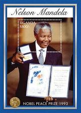 Uganda - President Nelson Mandela Nobel Prize winner