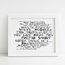"""SEASICK STEVE BORDERLESS MOSAIC TILE WALL POSTER 47/"""" x 25/"""""""