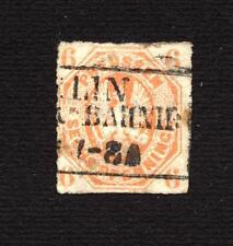 GERMANY - 1861/65 - Impression en Relief - Percés en Lignes - Used - 6 P.