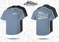 Salt Addiction fishing t shirt,Tuna,salt water,life,deep sea,trolling,rod,reel