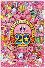 RGC Huge Poster - Kirby 20th Anniversary Nintendo Wii U Gamecube SNES - EXT061