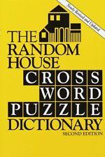 Random House Crossword Puzzle Dictionary, 2 Ed. by Stephen Elliott
