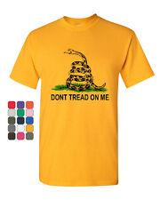Don't Tread On Me T-Shirt Gadsden Flag Rattle Snake Tee Shirt