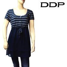Robe rayures bleu marine DDP femme