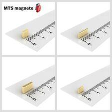Extrem starke Neodym Quadermagnete - verschiedene Größen - vergoldet - N45 - N50
