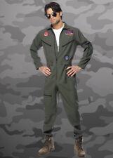 Adulto Uomo Costume da Pilota Top Gun