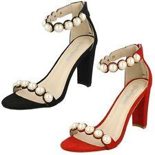 Ladies Anne Michelle Pearl Trim Mule 'Sandals'