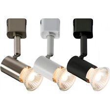 Knightsbridge GU10 LED Compatible Spot Universel Simple Circuit Secteur Piste