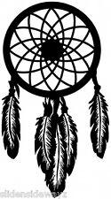 Dream Catcher vinyl decal/sticker feathers BoHo free spirit