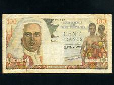 French Equatorial Africa:P-24,100 Francs,1947 * La Bourdonnais *