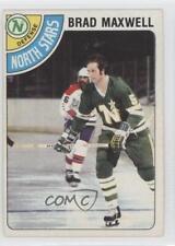 1978-79 O-Pee-Chee #83 Brad Maxwell Minnesota North Stars RC Rookie Hockey Card