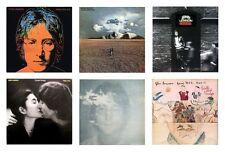 MINIATURE 1/12 Non Playable VINYL RECORD ALBUMS - JOHN LENNON - VARIOUS TITLES